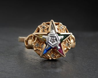 lady masonic ring